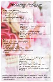 wedding packages prices salem wedding brides on a budget