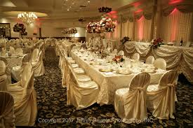 affordable banquet halls table seating the bridal party and their families arthur