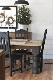 country style dining room sets a simple country style christmas kitchen rustic farmhouse