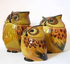 owl canisters for the kitchen 107 best kitchen canisters images on kitchen canisters