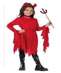 Kids Light Halloween Costume Devil Dazzling Light Kids Costume Devil Halloween Costumes