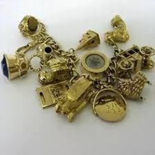 charm bracelet charms gold images 114 best gold charm bracelet someday images vintage jpg
