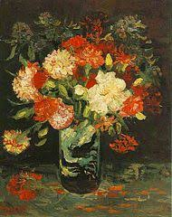 Drawings Of Flowers In A Vase Still Life Paintings By Vincent Van Gogh Paris Wikipedia