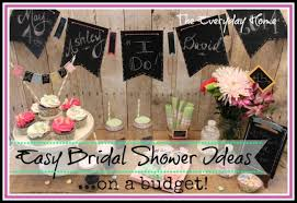 easy bridal shower easy and budget friendly bridal shower ideas the everyday home