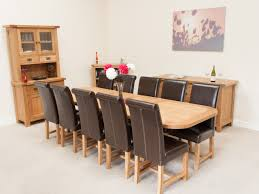 100 extendable dining table seats 10 table uncommon oak