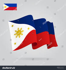 Flag Philippines Picture Philippines Waving Flag Vector Illustration Stock Vector 496233370