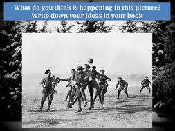 world war one christmas truce by ah390 teaching resources tes