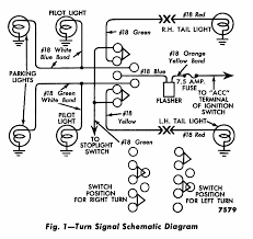 1954 gm turn signal wiring diagram wiring diagrams schematics