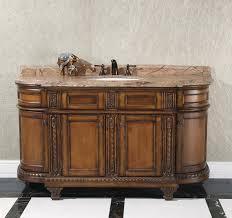 Bathroom Consoles And Vanities Legion 60 Inch Vintage Single Sink Bathroom Vanity Wb 1460l In