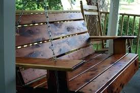 how to build porch swing your own frame diy from pallets