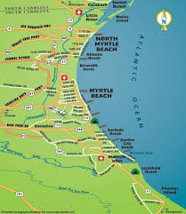 south carolina beaches map grand strand sc vacations myrtle sc area vacation guide