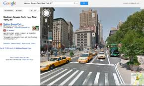 Google Maps New York State by On Accidentally Discovering Google Map As A Virtual Location
