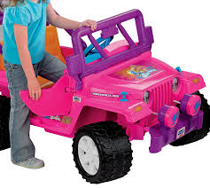 purple barbie jeep amazon com power wheels barbie jammin jeep wrangler discontinued