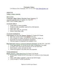 resume examples culinary student resume ixiplay free resume samples
