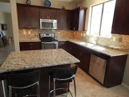 kitchen backsplash ideas with santa cecilia granite kitchen slate backsplash granite countertop we tried to match the