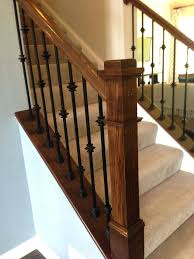 Iron Banister Spindles Iron Balusters Stair U2013 Brandonemrich Com