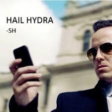 Hail Hydra Meme - i just love these hail hydra memes sherloooooccckkk pinterest