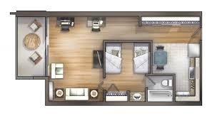 1 bedroom floor plan 1 bedroom cus housing in chapel hill nc