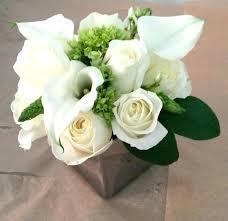 White Floral Arrangements Centerpieces by Masculine Flower Arrangements U2013 Eatatjacknjills Com