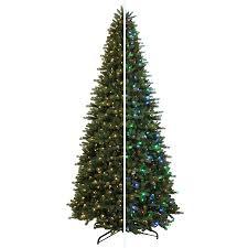 shop living 12 ft 4841 count pre lit balsam fir artificial