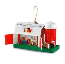 fisher price toys hallmark keepsake ornaments at hooked