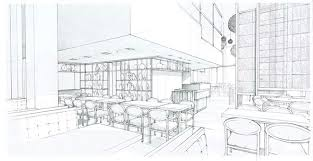 interior sketches interiors in graphite sketches on behance
