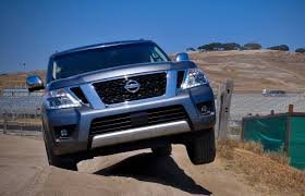 nissan canada august incentives first drive 2017 nissan armada driving