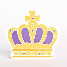 mardi gras crown finished wood royal crown mardi gras cutout wood cutouts