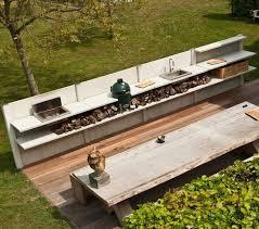 Kitchen Outdoor Design Best 25 Big Green Egg Outdoor Kitchen Ideas Only On Pinterest