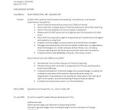 sle resume for senior staff accountant duties resume resume beautiful handyman self employed sles visualcv database