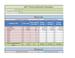 Mileage Spreadsheet Handy Spreadsheet To Gauge Ubt Savings Labor Management Partnership