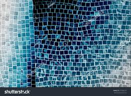 rough blue mosaic tile wall bathroom stock photo 273720167