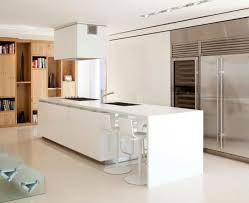 modern white kitchen surprenant modern white kitchen island chic 75 designs photo