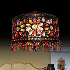 wrought iron flush mount lighting semi flush mount tiffany ceiling lights wrought iron fixture