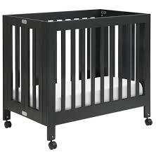 Grey Mini Crib Babyletto Origami Mini Crib Lusso Inc