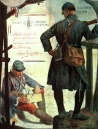 bureau de poste 14 le bureau de poste rural et courrier postal des poilus avec les