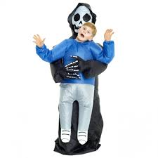 Inflatable Halloween Costumes Kids Pick Me Up Grim Reaper Inflatable Costume