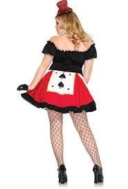 Queen Hearts Size Halloween Costume Queen Hearts Halloween Costume N5616