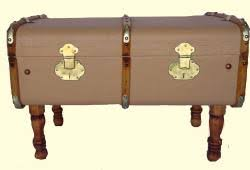 vintage luggage antique trunks omero home