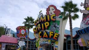 Universal Islands Of Adventure Map Comic Strip Cafe Quick Service At Universal U0027s Islands Of Adventure