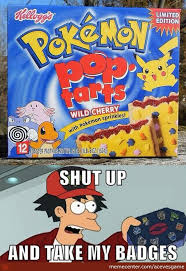 Pop Tarts Meme - pokémon poptarts by acevesgame meme center