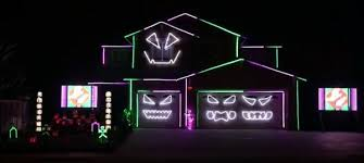7th annual riverside house light show neatorama