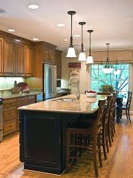 Kitchen Island With Seating For 4 Excellent 4 Seat Kitchen Island View In Gallery Traditional