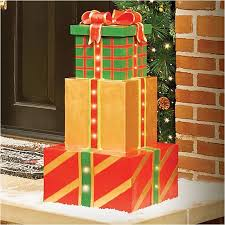 outdoor lighted gift boxes outdoor lighted gift box decorations fresh 242 best outdoor