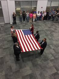 How Many Stars And Stripes Are On The Us Flag Flag Folding Ceremony Beck 4 Indiana