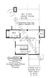 ramey farms cottage house plan house plans by garrell associates