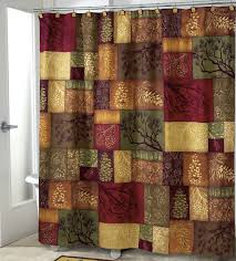 Bath Shower Curtains And Accessories Trend Of Rustic Bathroom Shower Curtains And Rustic Cabin Bath