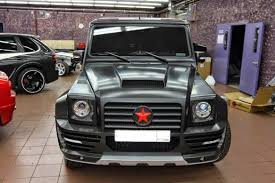mercedes g55 amg mansory russian edition benztuning