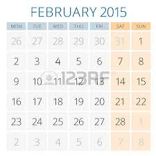 calendar 2015 august vector design template week starts monday