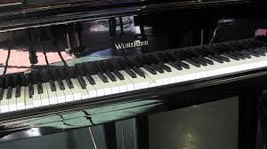 new qrs pianomation ii demo on baby grand piano with yamaha bench